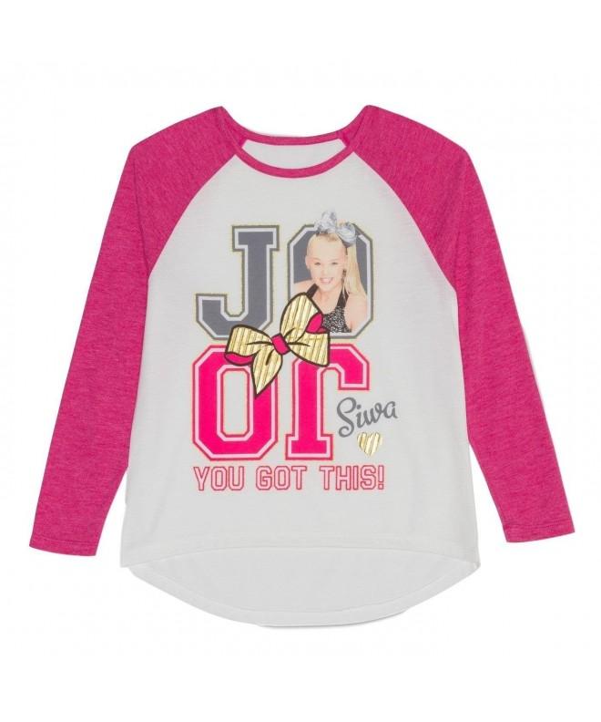 Nickelodeon Girls Sleeve Raglan Shirt