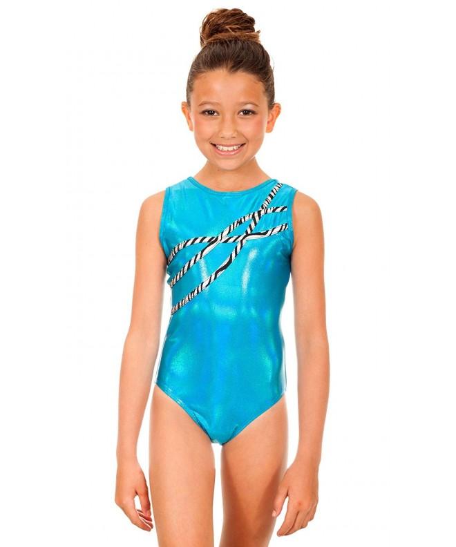 TumbleWear Girls Turquoise Starlet Sophia