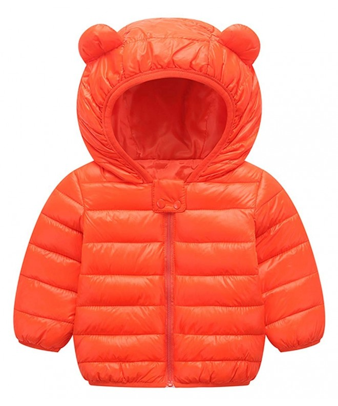 FEOYA Winter Puffer Lightweight Outerwear