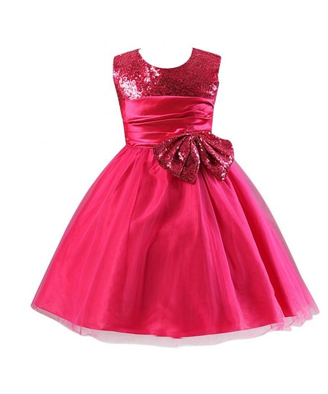 LSERVER Pageant Little Bridesmaid Dresses