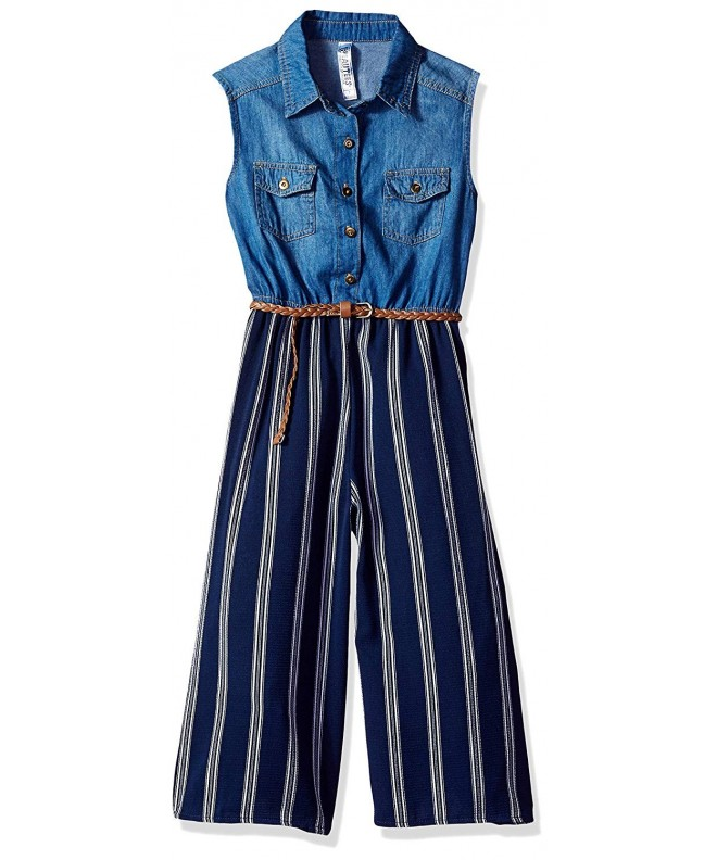 Beautees C29905202K Girls Big Jumpsuit