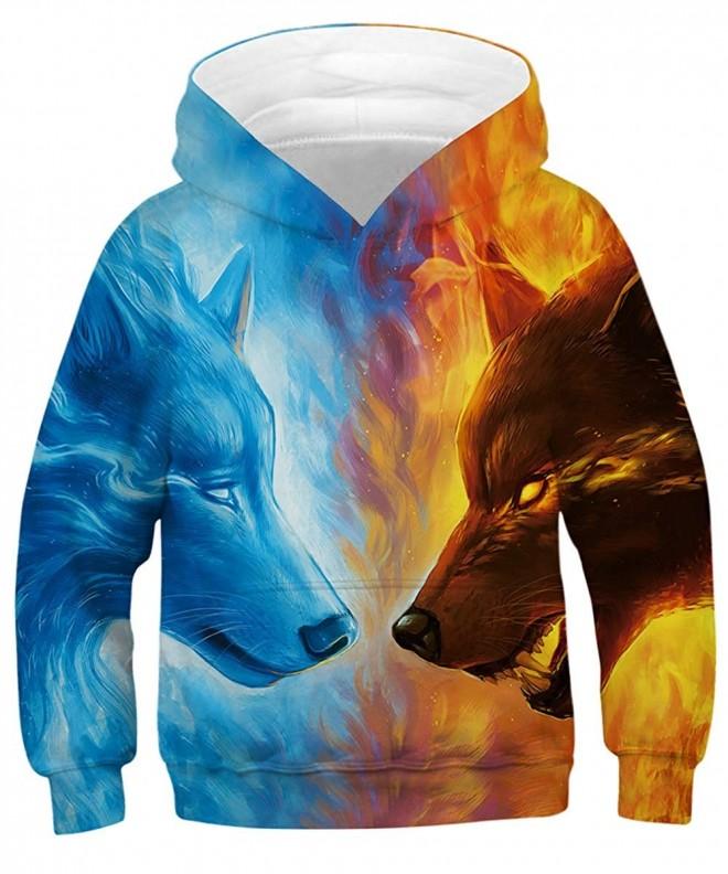 KIDVOVOU Unicorn Printed Pullover Sweatshirt