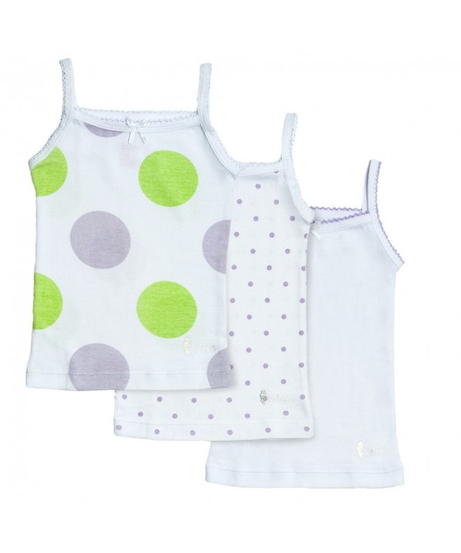 Feathers Girls Polkadot Tagless Undershirts