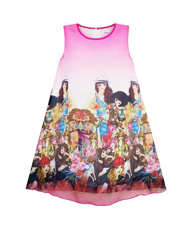 Sunny Fashion Modern People Figure