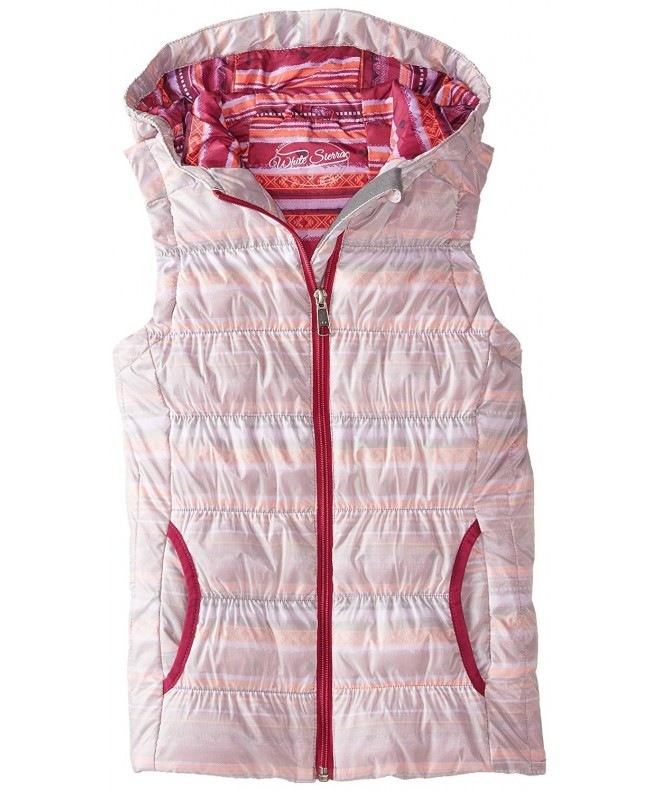 White Sierra Girls Helens Vest