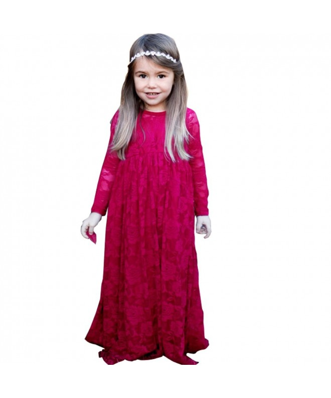 Lampang Sleeves First Communion Dress