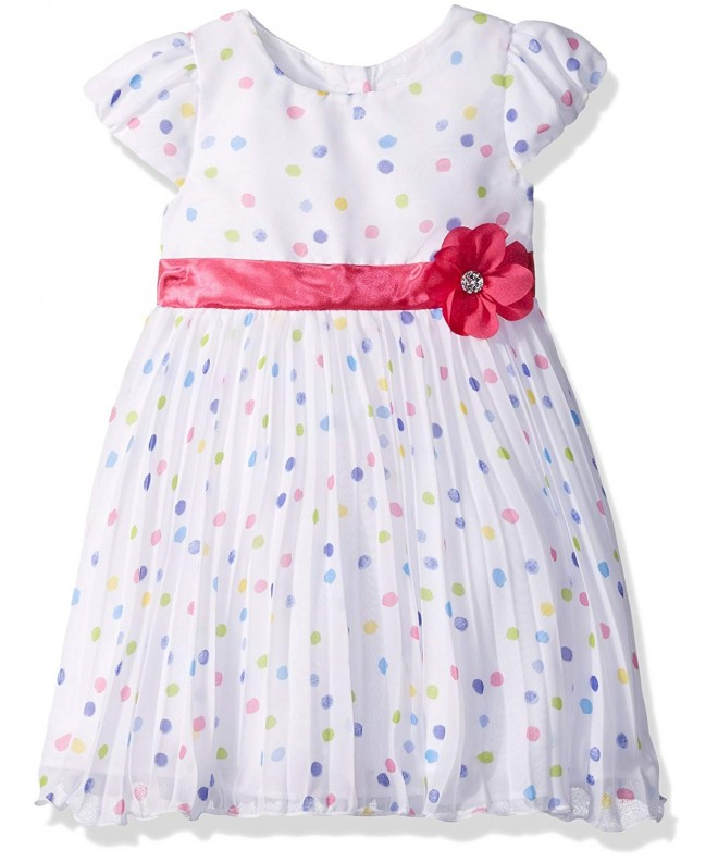 Youngland Toddler Pleated Chiffon Occasion