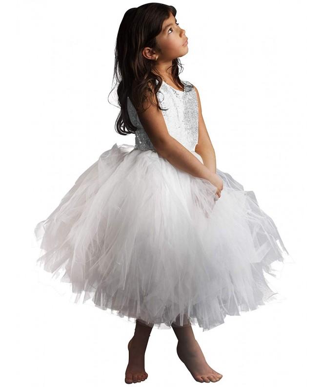 AbaoSisters Sequin Sleeveless Princess Birthday