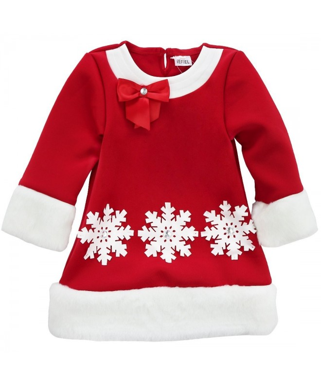 iEFiEL Christmas Sleeves Holiday Outfits