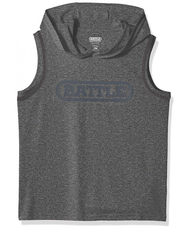 Battle Youth Sleeveless Action Hoodie