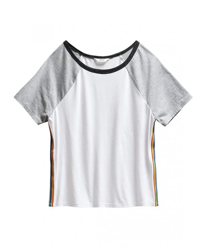 Maddie Girls Raglan Sleeve T Shirt