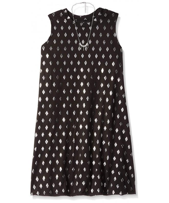 Amy Byer Girls Sleeveless Dress