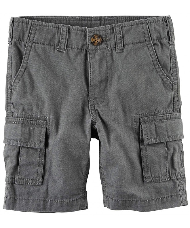 Carters Boys Charcoal Cargo Shorts