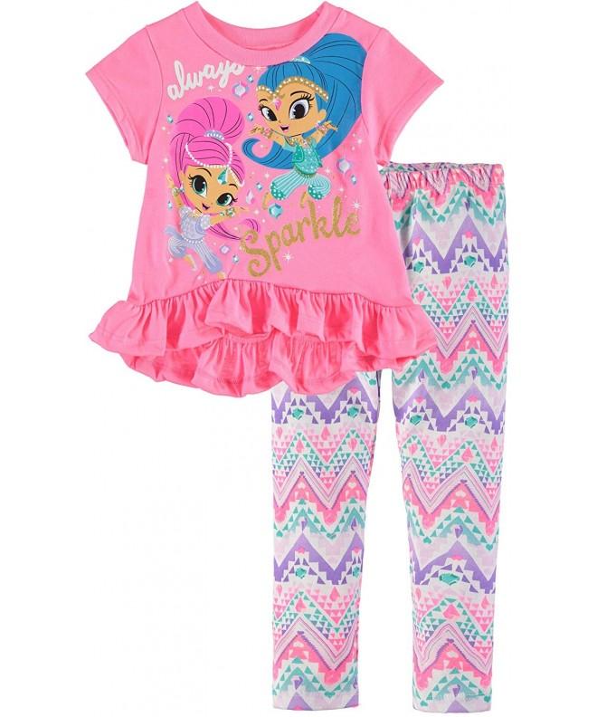 Nickelodeon Girls Shimmer Legging Chiffon