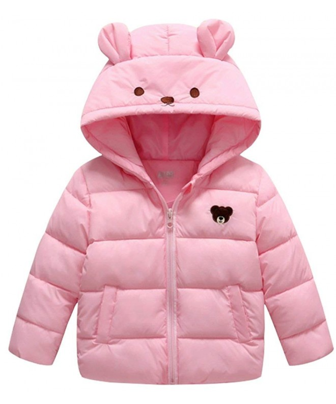 Little Winter Lightweight Cartoon Hooded