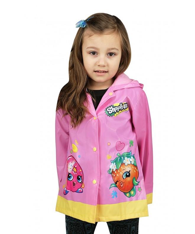 Shopkins Little Waterproof Outwear Hooded