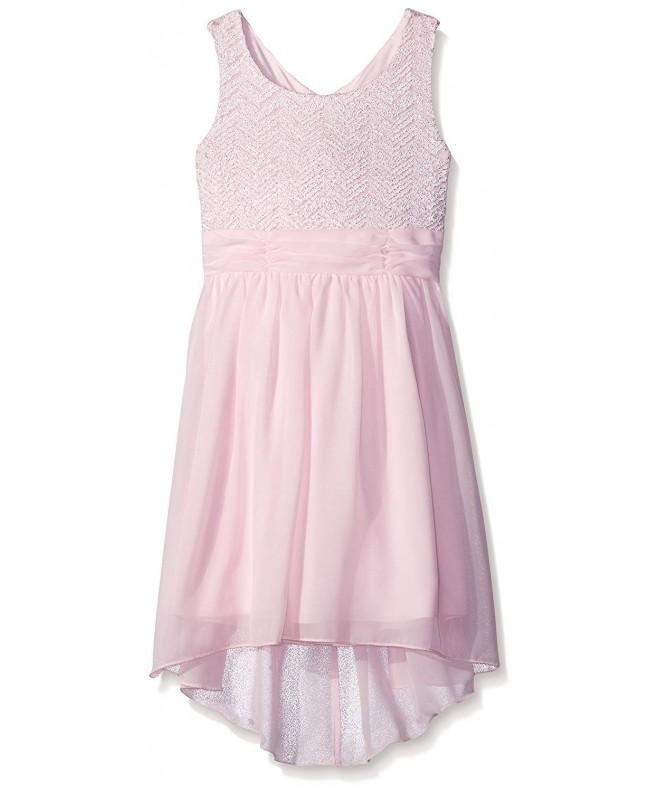 Speechless Girls Chevon Chiffon Dress