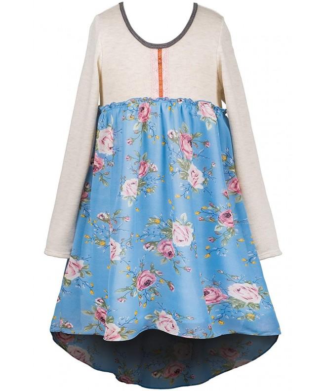 Truly Me Girls Chiffon Dress