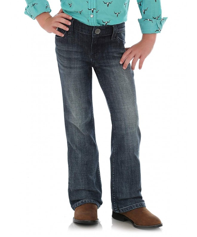 Wrangler Girls Western Stretch Jeans
