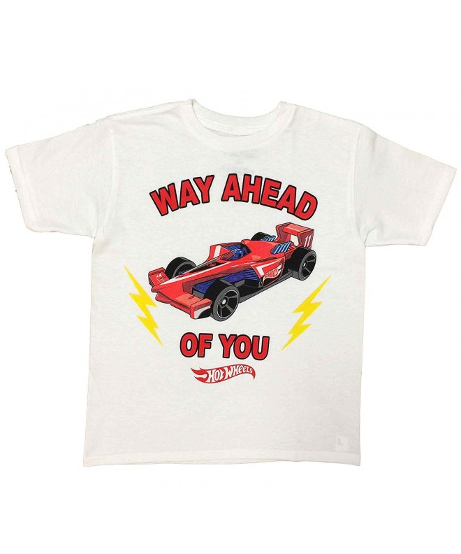 Wheels Little Ahead Shirt White