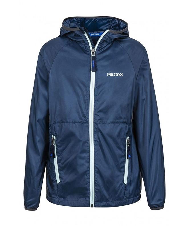 Marmot Lightweight Hooded Windbreaker Jacket