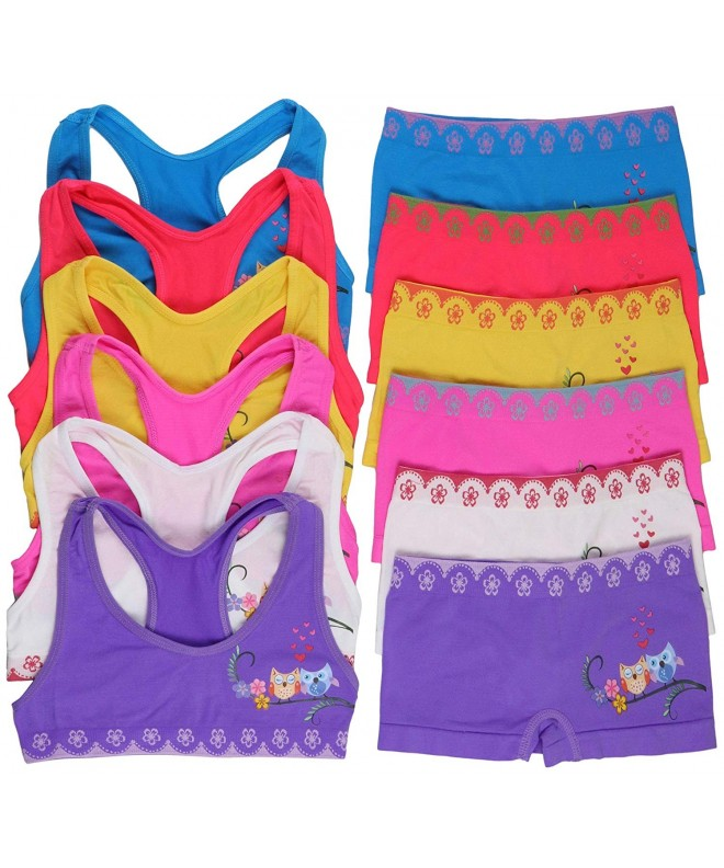 ToBeInStyle Girls Pack Matching Boyshorts
