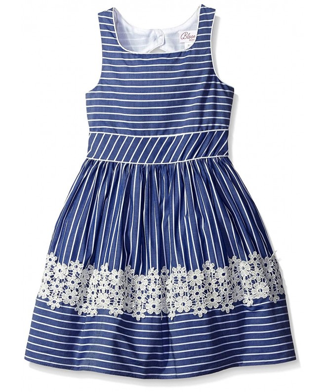 Bloome Girls Chambray Occasion Dress