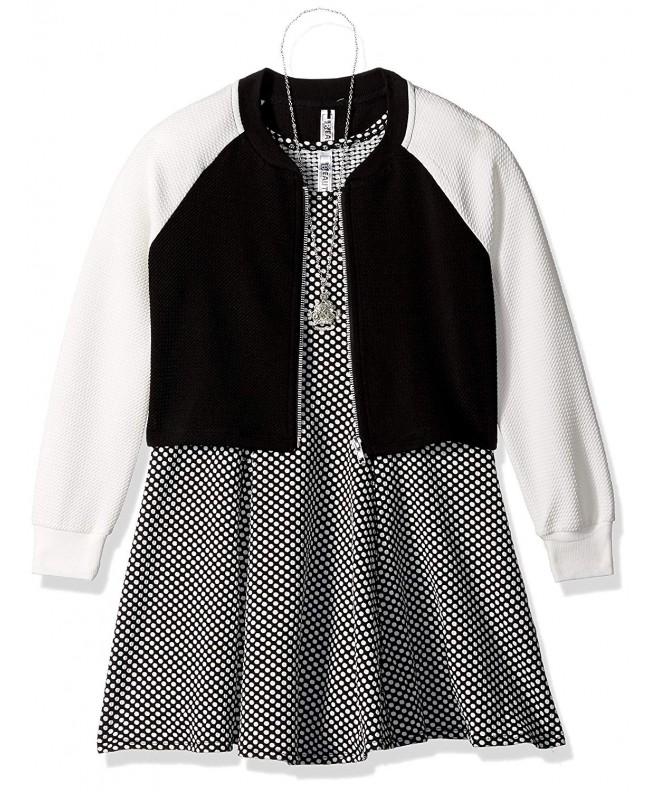 Beautees Girls Jacket Princess Dress