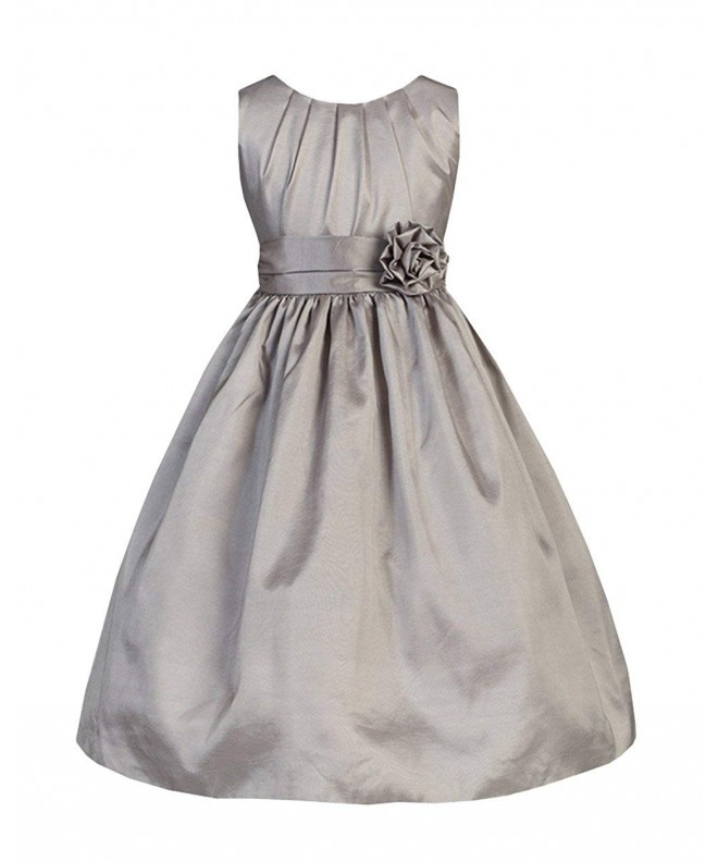 Sweet Kids Little Pleated Taffeta