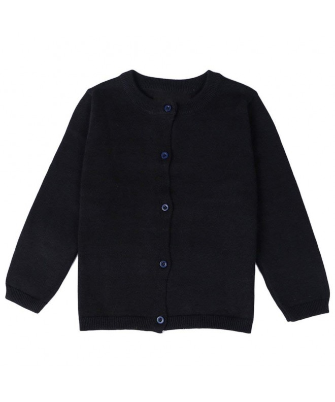 ASHERANGEL Little Girls Cardigan Sweaters