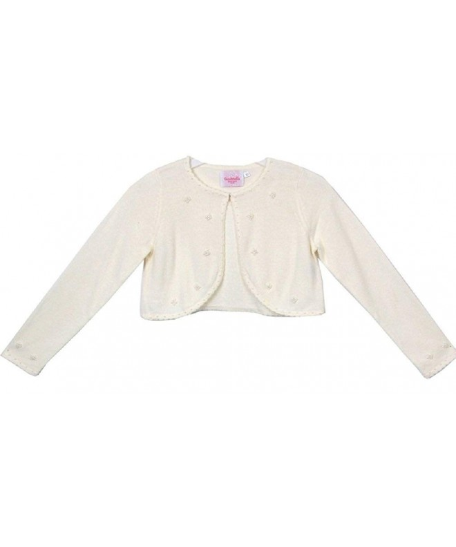 Little Sweater Cotton Bolero Jacket