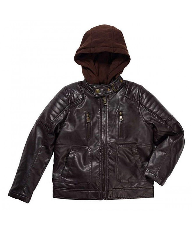 Urban Republic Leather Jacket Brown