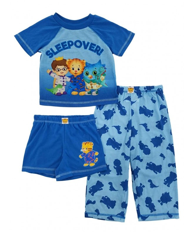 Daniel Neighborhood Toddler 3 Piece Sleepwear