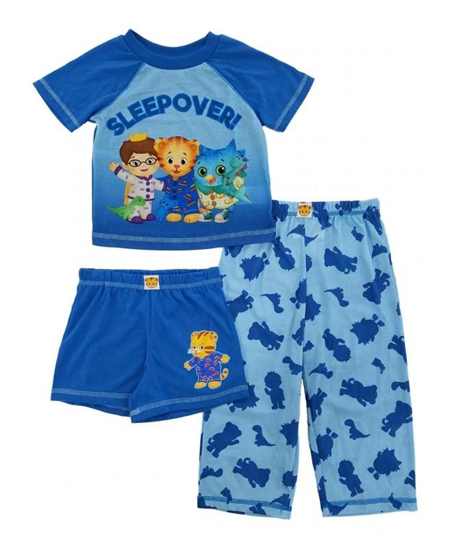 Daniel Neighborhood Toddler 3 Piece Sleepwear