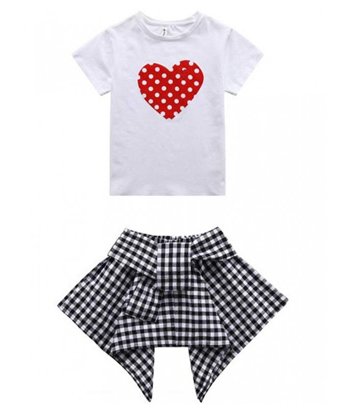 Toddler Outfits Tshirt Fashion Summer
