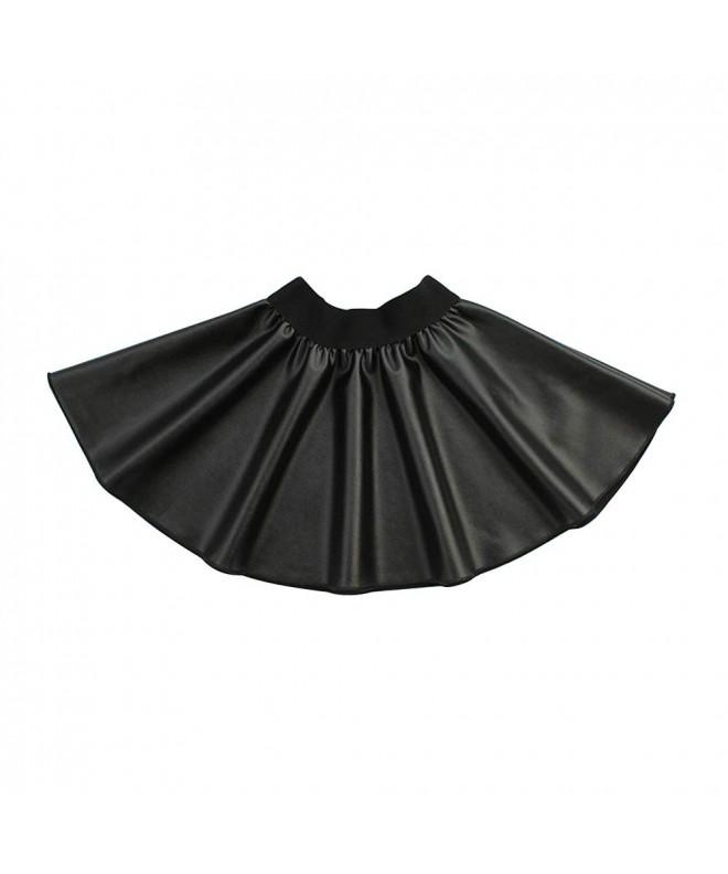 Gooket Little Girls Elastic Leather