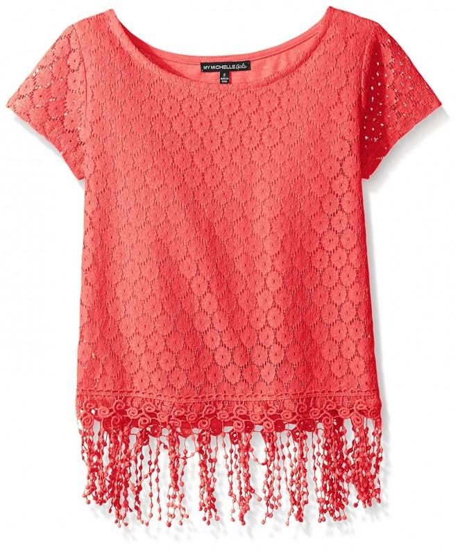 My Michelle Crochet Sleeve Fringe
