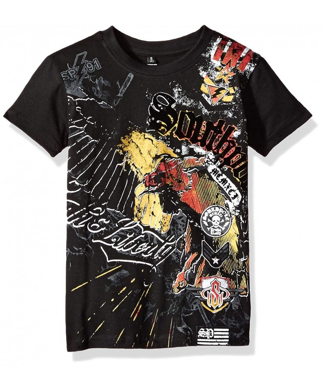 Southpole Short Sleeve Flock Graphic