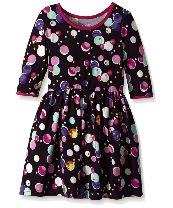 Marmellata Little Girls Bubble Print
