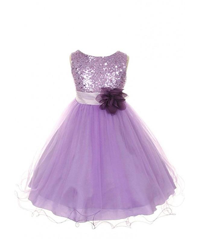 Kids Dream Sequin Bodice Dress lilac 2
