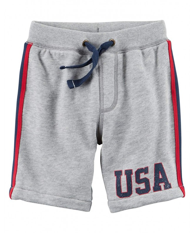 Carters Boys 2T 4T Terry Shorts