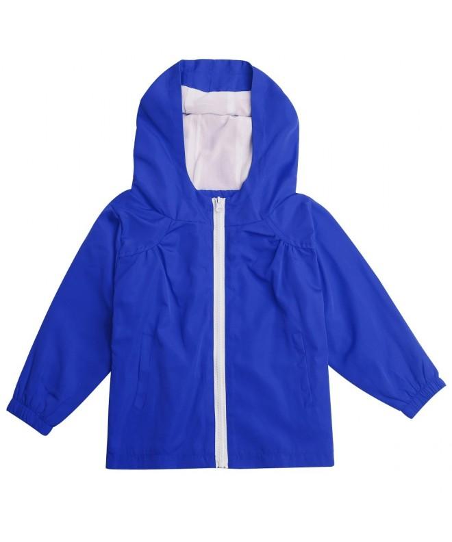 STIME Childrens Waterproof Raincoat Jacket
