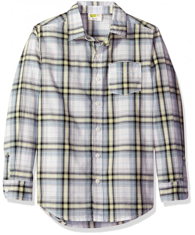 Crazy Boys Poplin Button Down Shirt