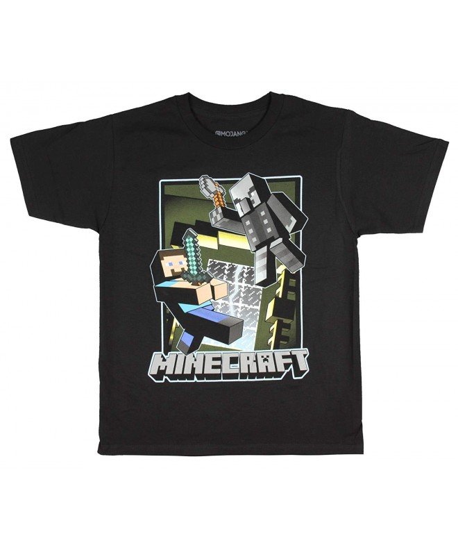 Minecraft Haunted Mansion Graphic T Shirt