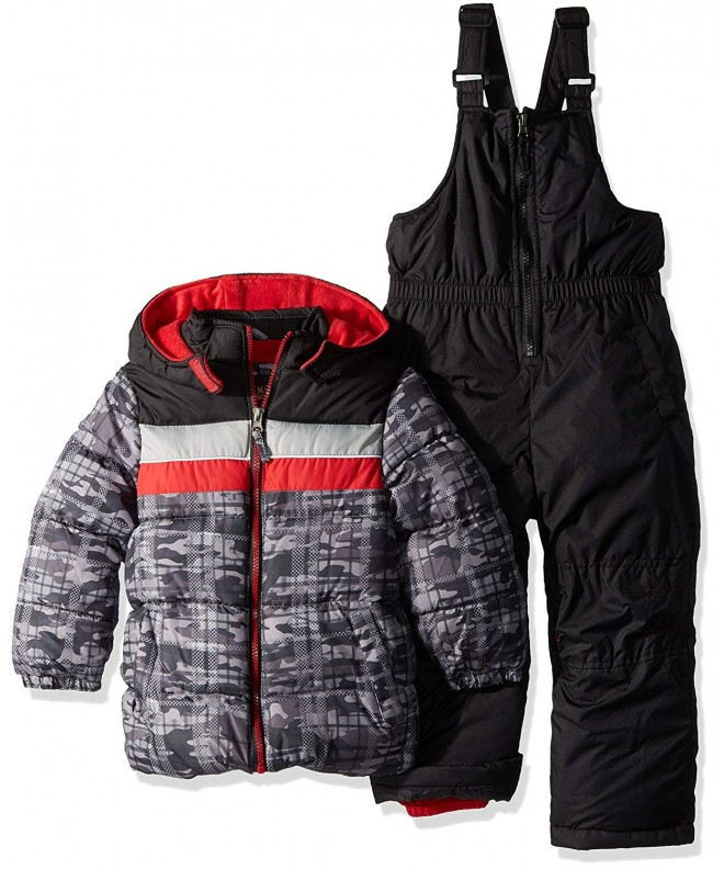 iXtreme Active Colorblock Snowsuit Black