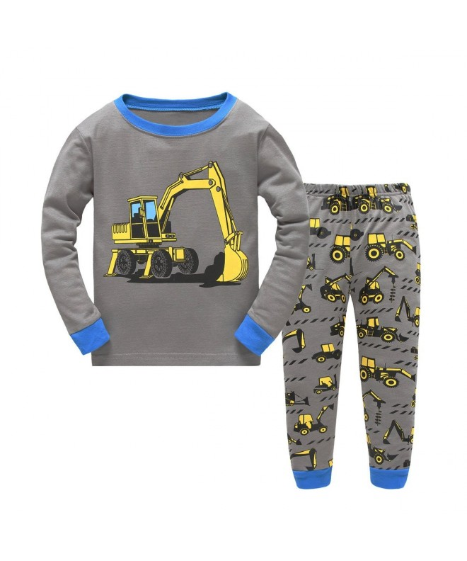 Dreamaxhp Excavator Little Pajama Cotton