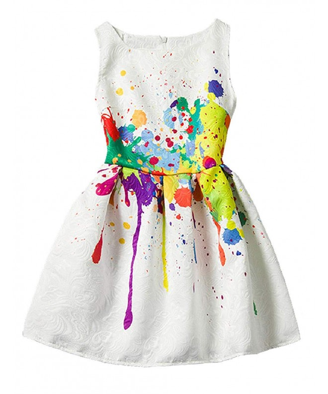 Casual Butterfly Animal Sleeveless Dresses