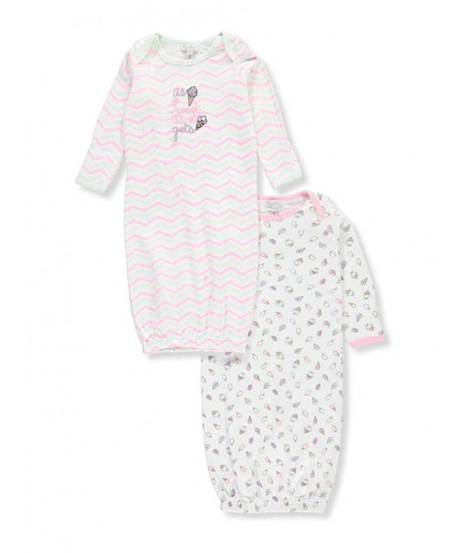 Quiltex Girls Toddler Cream Sleeper