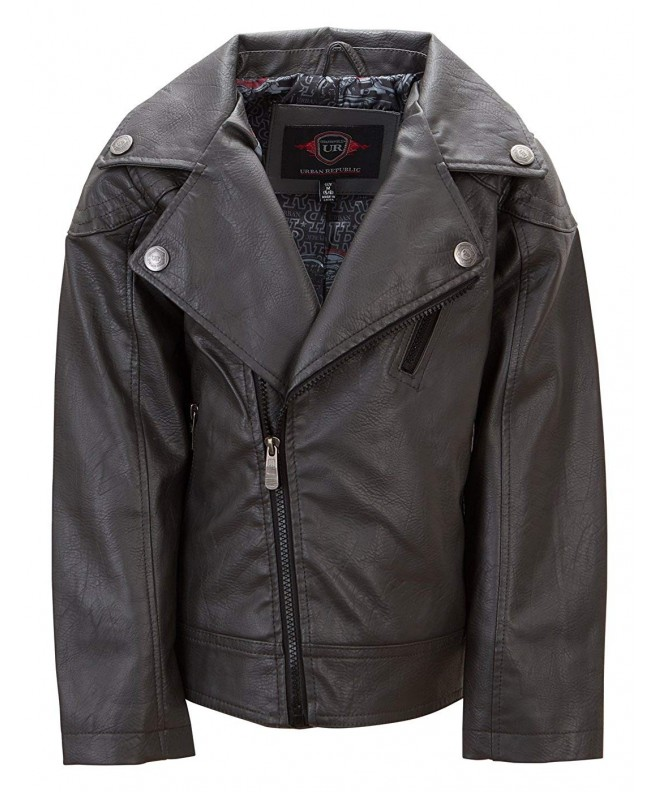 Urban Republic Leather Jacket Motorcycle