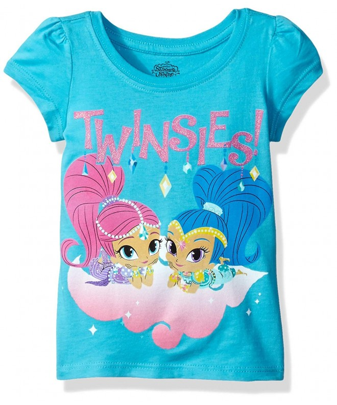 Nickelodeon Toddler Shimmer Twinsies Turquoise